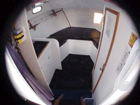 Charterboat cabin
